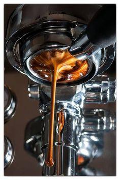 Thick creamy caffeine.