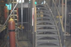 Curved Stairs Fabrication - CS06