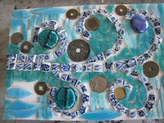 a money tree mosaic by kat gottke