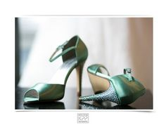 Green Wedding shoes | Krista Patton Photography