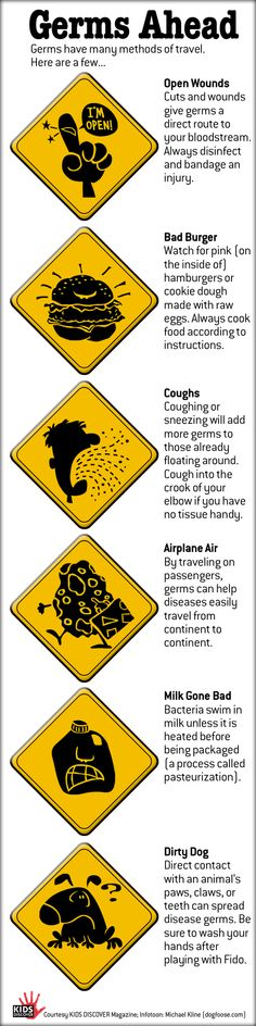 Germs, Will Travel: In the weeks and months ahead, be sure to cover that cough, among other things. Health Class, School Health, Health Lessons, Science Classroom, Science Education, Office Safety, Nursing Mnemonics, Human Body Unit, 1st Grade Science