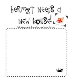 A House for Hermit Crab and Freebie