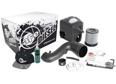 aFe POWER 51-72005-E Diesel Elite Momentum HD Pro DRY S Cold Air Intake System RAM Diesel Trucks 13-17 L6-6.7L