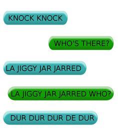 Silly knock knock