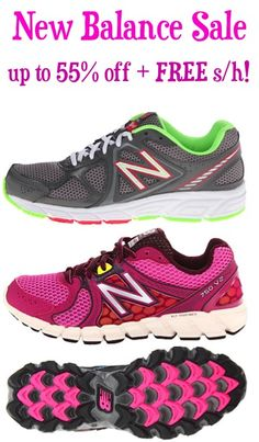 New Balance Shoe Sale: up to 55% off + FREE Shipping! #shoes