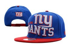 NFL New York Giants Snapback Hats Blue 4643|only US$8.90