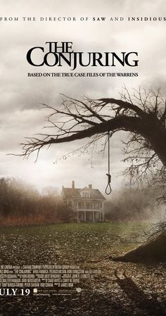 Directed by James Wan.  With Patrick Wilson, Vera Farmiga, Ron Livingston, Lili Taylor. Paranormal investigators Ed and Lorraine Warren work to help a family terrorized by a dark presence in their farmhouse.