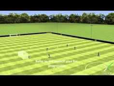 Soccer drill - Passing in triangles - YouTube