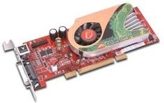 Radeon X1300 256MB Pci DMS-59 by VisionTek. $89.75. Step-up to serious 2D/3D performance and high-definition image quality with VisionTek's Radeon X1300 Dual Display DMS59 PCI graphics card. Short Form Factor design fits in today's Low Profile desktops and workstations (short bracket mounted on card). Card is convertible to standard ATX design with tall bracket for standard chassis as well. Single slot, Dual Monitor support is now available for your Small Form Factor PC. The...