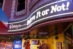 . . . to Ripley's Believe It or Not! Museum Fisherman's Wharf San Francisco.