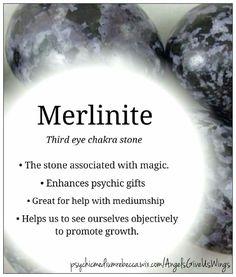 Merlinite crystal meaning