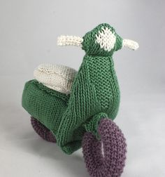 Because I knit things that I love #scooter #kitting #ravelry