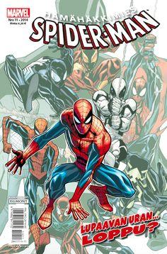 Hämähäkkimies - Spider-Man nro 11/2014. #sarjakuva #sarjakuvalehti #sarjis #egmont #marvel