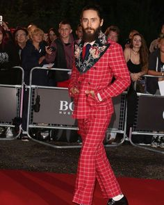 Jared leto attends the GQ men of the year awards at tate modern in london, september 5, 2017