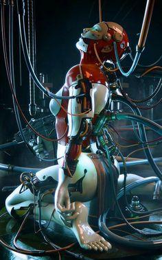 Cyberpunk Clothes, Cyberpunk Girl, Cyberpunk Character, Cyberpunk 2077, Cyborg Girl, Female Cyborg, Alita Battle Angel Manga, Saga Art, Character Art