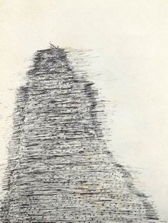 Henri Michaux. 'Mescaline Drawing'. Ink on paper. Date unknown.