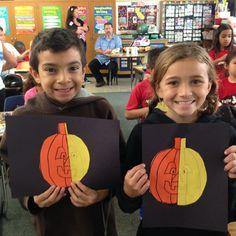 Pumpkin Art symmetry