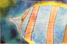 """Beautiful Wonder"" by McKensy Watson from the Polly Ryan Middle School art program. #ArtColony #HouArtFest"