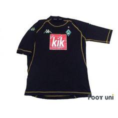 Photo1: Werder Bremen 2004-2005 3RD Shirt kappa UEFA Champions League 3RD Shirt - Football Shirts,Soccer Jerseys,Vintage Classic Retro - Online Store From Footuni Japan
