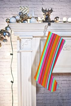 Fimbis Cusac Stocking | DENY Designs Home Accessories  #Chirstmas #xmas #christmasstocking
