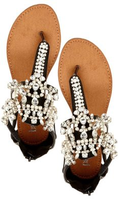 Destiny Jeweled Sandals..oh WoW!  love bling and these are blinged out! <3