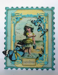 Scrapstuff and more: Felicity Card for Authentique