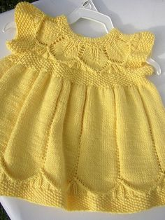 my second Clara dress     vestido dos agujas precioso