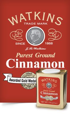 Cinnamon! I love this cinnamon on all kinds of things. On my oatmeal, in my coffee, even on my kale! Yum!! www.jrwatkins.com/consultant/sandra.zellner