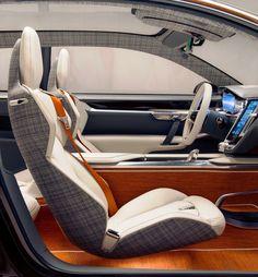 Photographs of the 2014 Volvo Estate Concept. An image gallery of the 2014 Volvo Estate Concept. Custom Car Interior, Car Interior Design, Automotive Design, Interior Concept, Automotive Upholstery, Car Upholstery, Volvo 850, Supercars, Volvo Estate