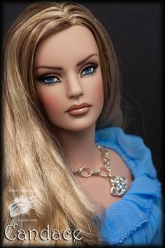 Tonner Sydney Repaint by Lisa Gates Glamour Dolls, Glam Doll, Doll Face Paint, Doll Repaint, Barbie House, Barbie Friends, Barbie World, Ooak Dolls, Beautiful Dolls