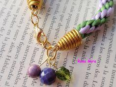 Con perlas y a lo loco...: Pulsera de kumihimo PU.0041