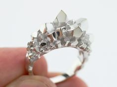 Crystal Ring Size 8 by Eeppium