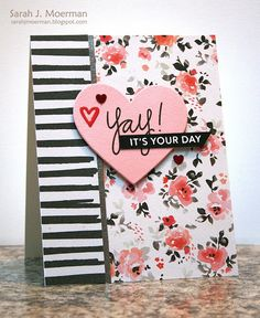 My Impressions: Simon Says Stamp February Card Kit: Yay! It's Your Day (& GIVEAWAY)!