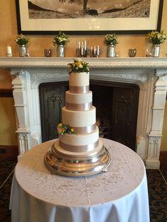 Our gorgeous cake