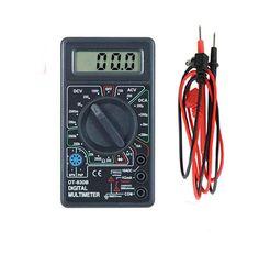 DT-830B  LCD Digital Voltmeter Ohmmeter Ammeter Multimeter Handheld Tester DT830B  AC DC home tester