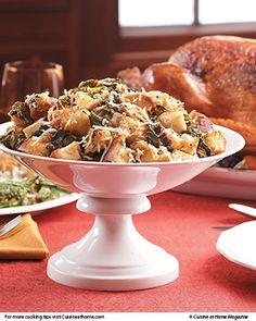 Herb-Pancetta Dressing | Cuisine at home eRecipes