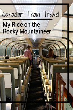 Train travel is one of the best ways to see areas of the world that cars cannot go. Come along with me on my journey across Canada on the Rocky Mountaineer. #canadatravel