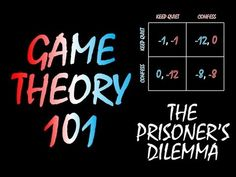 Game Theory 101: The Prisoner's Dilemma - YouTube