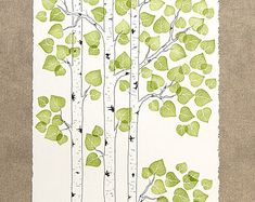 aspen trees drawing how to - Google Search