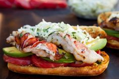 Grilled Southwest Lobster Roll