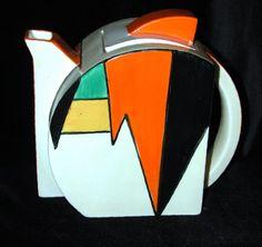 Art Deco Teapot http://www.google.com/imgres?q=art+deco+pottery&hl=en&biw=1349&bih=872&tbm=isch&tbnid=9G1zMFE1TLSb3M:&imgrefurl=http://www.antiquehotspots.com/dlrDetail.asp%3Fid%3D1579&docid=e3lf3_5xzicV8M&w=500&h=471&ei=51eTTqiXJujc0QHY6uUj&zoom=1&iact=hc&vpx=174&vpy=273&dur=2137&hovh=218&hovw=231&tx=97&ty=114&page=1&tbnh=126&tbnw=139&start=0&ndsp=32&ved=1t:429,r:0,s:0