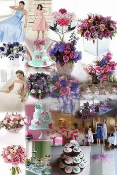 tea party wedding reception