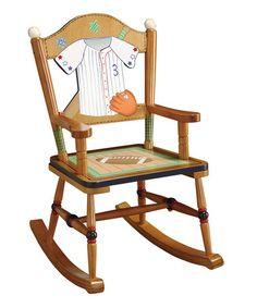 Loving this Little Sports Fan Rocking Chair on #zulily! #zulilyfinds