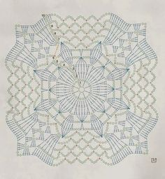 Crochet motifs charts