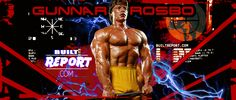 Gunnar Rosbo: The Terminator that could have been Slot, Wrestling, Movies, Movie Posters, Banner, Fictional Characters, Lucha Libre, Banner Stands, Films