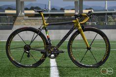 Colnago C60 tri-colour road bike