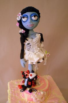 Image Gallery | Sweet Ruby Cakes  The Corpse Bride-Emily