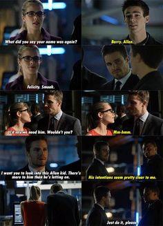 Arrow - Felicity & Oliver #Season2 #Olicity <3