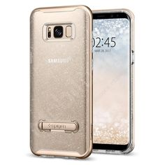 Samsung Galaxy Plus Spigen Crystal Hybrid Case With Kickstand - Vintage Rose Glitter Samsung Galaxy Plus color covers at exceptional prices. Full line of Samsung Galaxy Plus covers, color covers, gels, skins, and more. Galaxy S8, Samsung Galaxy, S8 Plus, Mobile Cases, Vintage Roses, Samsung Cases, Gold Glitter, Mobiles, Quartz