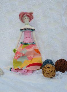 """POUPEE en chiffon décoration ...Pin'UP """"FANETTE"""" : Accessoires de maison par paquita-14400"""